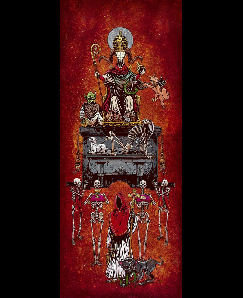 Parade of the False Idol - David Lozeau - Muertos - Day of the Dead