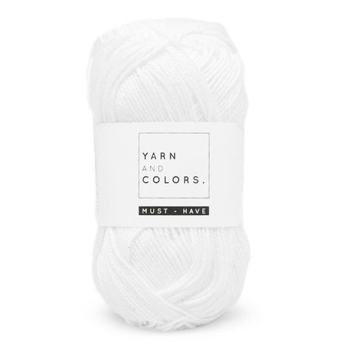 Yarn & Colours Must-Have 001 White