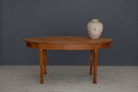 Dutch Colonial Teak Dining Table from Jakarta