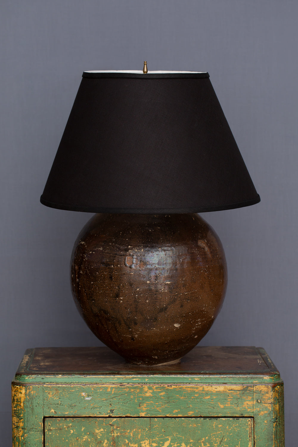 18th Century Chinese Export Jar Converted into a Lamp Base