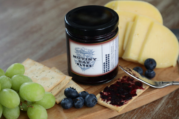 Spiced Blueberry Preserves