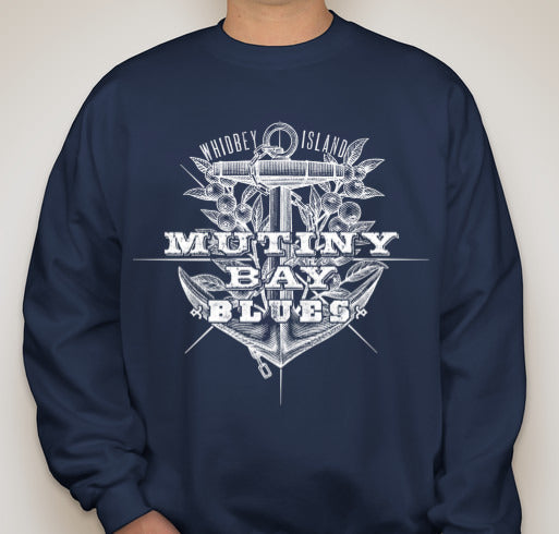 Mutiny Bay Blues Unisex Crewneck