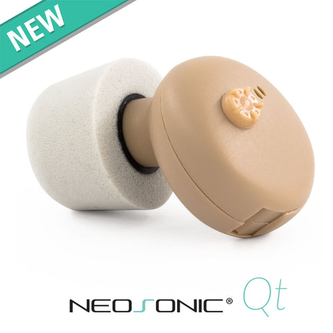 Neosonic Qt Hearing Amplifier - ITE in the ear hearing amplifier