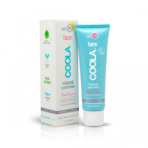 Coola - Mineral Face SPF 20 - Rose Essence Tinted Moisturizer