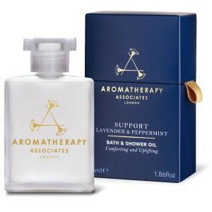 Aromatherapy Associates - SUPPORT BODY CARE - Support Lavender & Peppermint Bath & Shower Oil