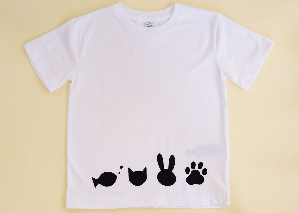 Animal Print Kids T-Shirt