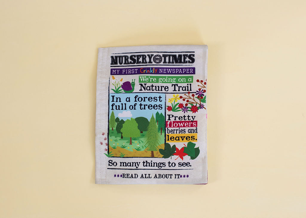 'Nature Trail' Crinkly Cloth Book