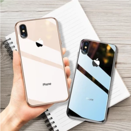 All-inclusive Anti-drop Plating Mirror Original iPhone Case - Kikiboom online store