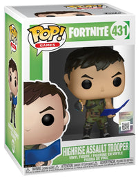Fortnite Highrise Assault Pop Funko