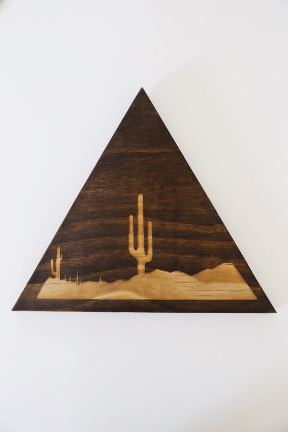 Triangle Plaque