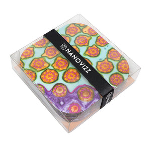 Strawberry Fields Coasters 4-Pack