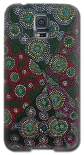 Crimson Cosmos Phone Case