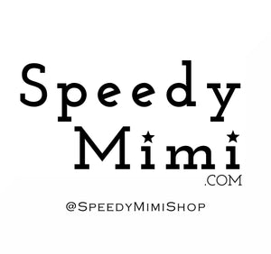 Speedy Mimi.com logo Unique affordable gifts and gadgets