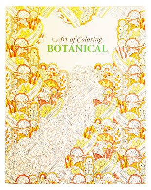 Art of Coloring Botanical - Adult Colouring in Book