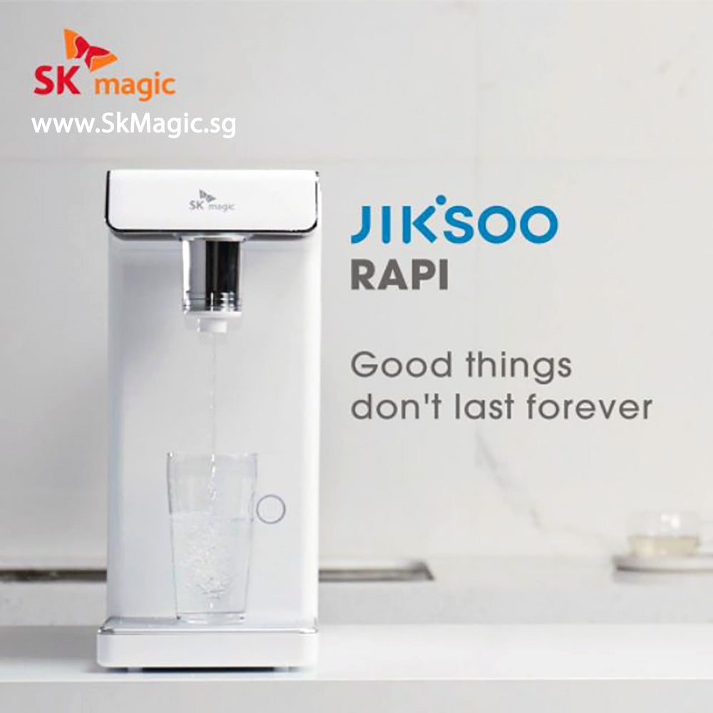 MID YEAR SALE! WPU A400D JIK.SOO RAPI Cold Hot Ambient Infant Child Water Purifier Tankless Water Dispenser