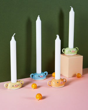 PET ROCK CANDLE HOLDER