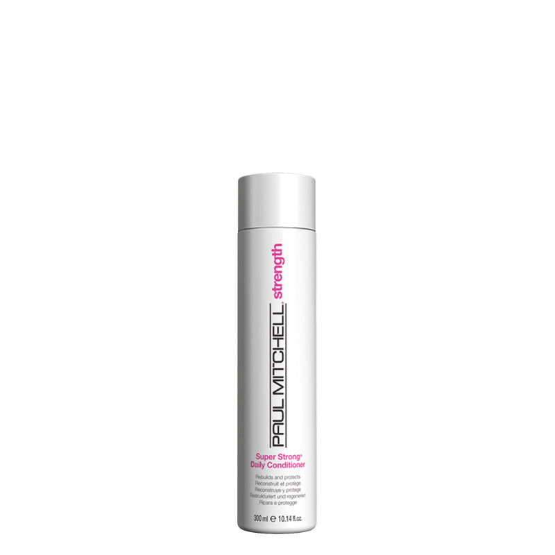 Paul Mitchell Super Strong Daily Conditioner 300 ml, rakennepaikkaava ja tuuheuttava hoitoaine nordic hair house olaplex
