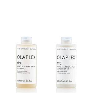 Olaplex Duo Treatment 4-5 for home use, olaplex no.4  shampo olaplex no.5 conditioner nordic hair house edullinen netin halvin osta