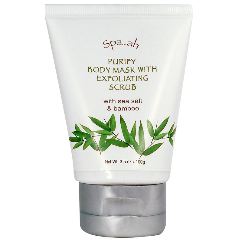 Spaah Purify Body Mask Exfoliating Scrub