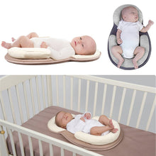 Load image into Gallery viewer, *Baby Pillow Infant Newborn Mattress Pillow Baby Sleep Positioning Pad Prevent Flat Head Shape Anti Roll Pillows