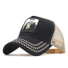 Load image into Gallery viewer, *Animals Embroidery Baseball Caps Men Women Snapback Hip Hop Hat Summer Mesh hat Streetwear Bone gorra animales bordados