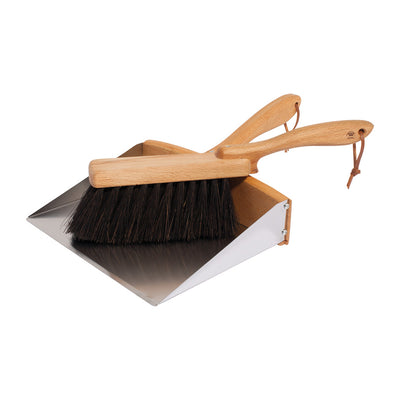 Dustpan + Vegan Handbrush Set