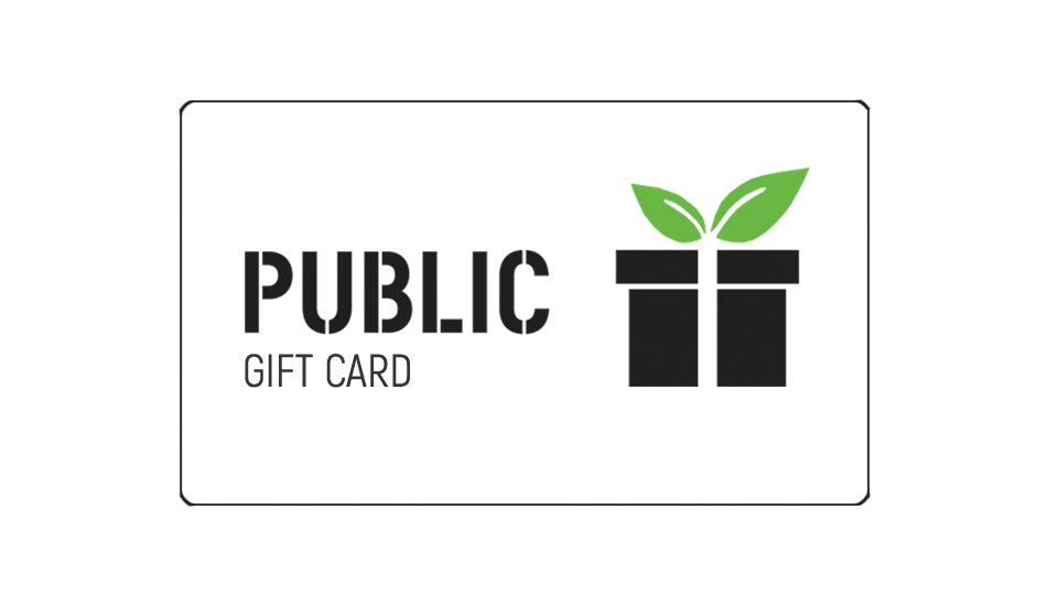 Public Goods and Services Gift Cards