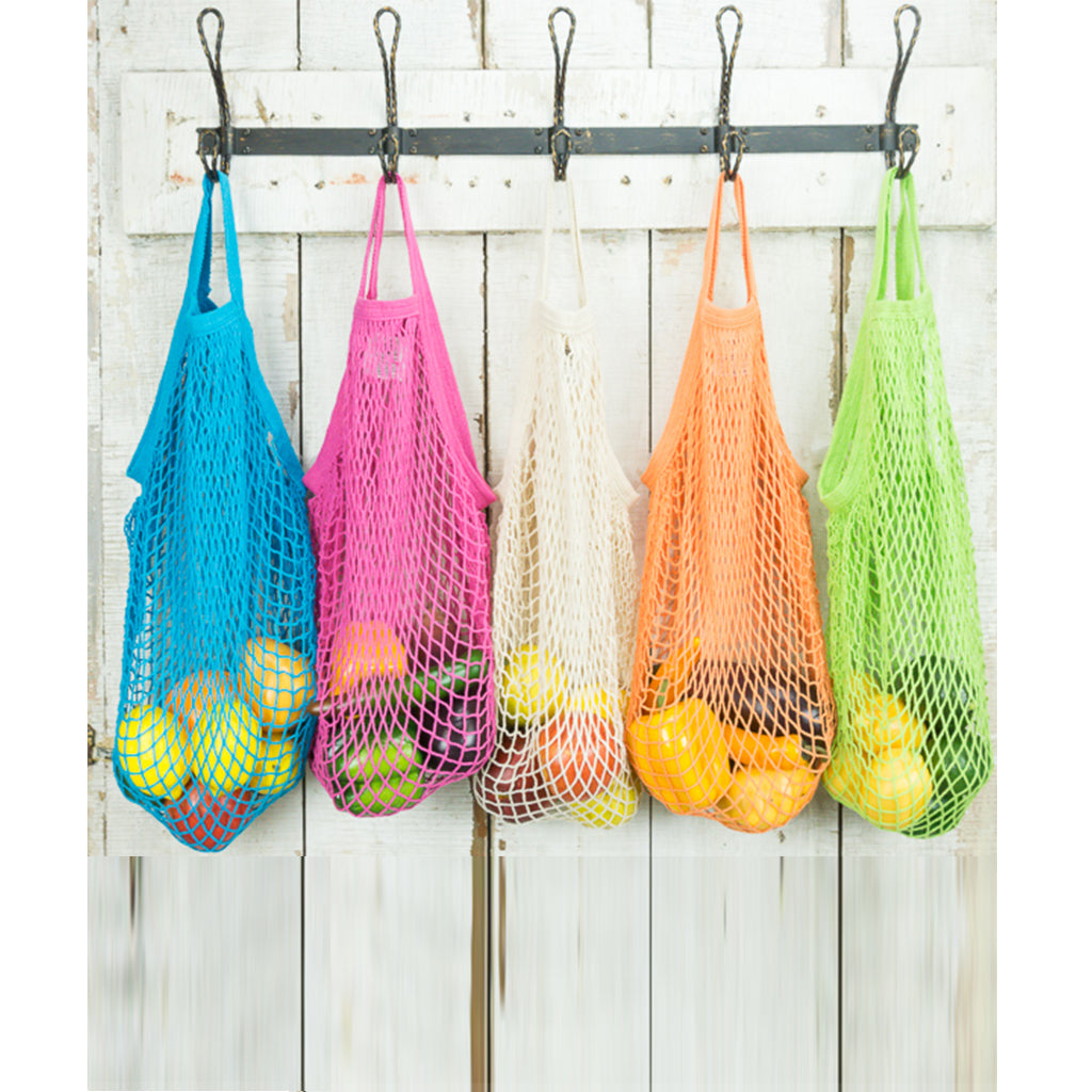 Cotton Short Handle String Market Bags