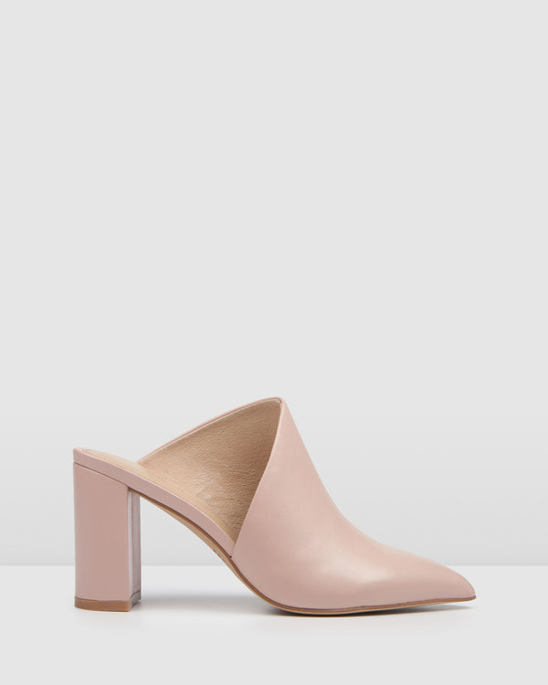 RUSH HIGH HEELS BLUSH LEATHER