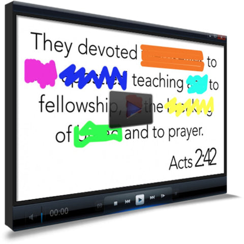 Acts 2:42 Memory Verse Video