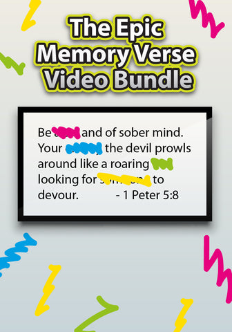 The Epic Memory Verse Video Bundle