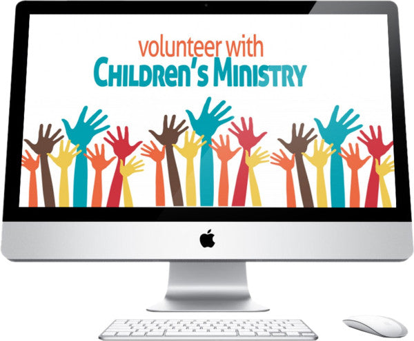 Volunteer Children's Church Graphic