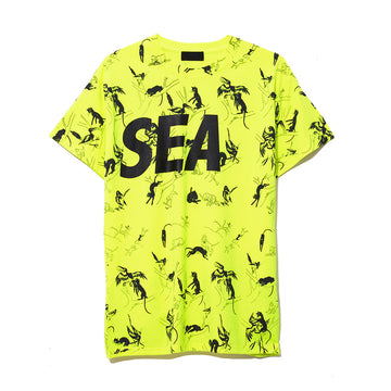 T-SHIRT PATTERN / YELLOW (CS-127)