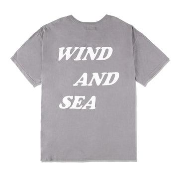 W&S G-DYE (palm tree) Tee / GRAY (CS-157)