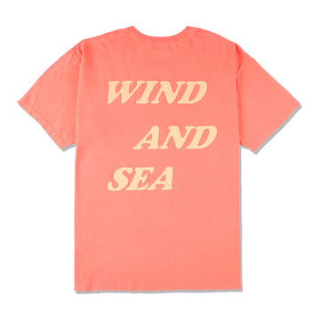 W&S G-DYE (palm tree) Tee / PINK (CS-157)