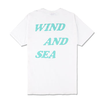 W&S G-DYE (palm tree) Tee / WHITE (CS-157)