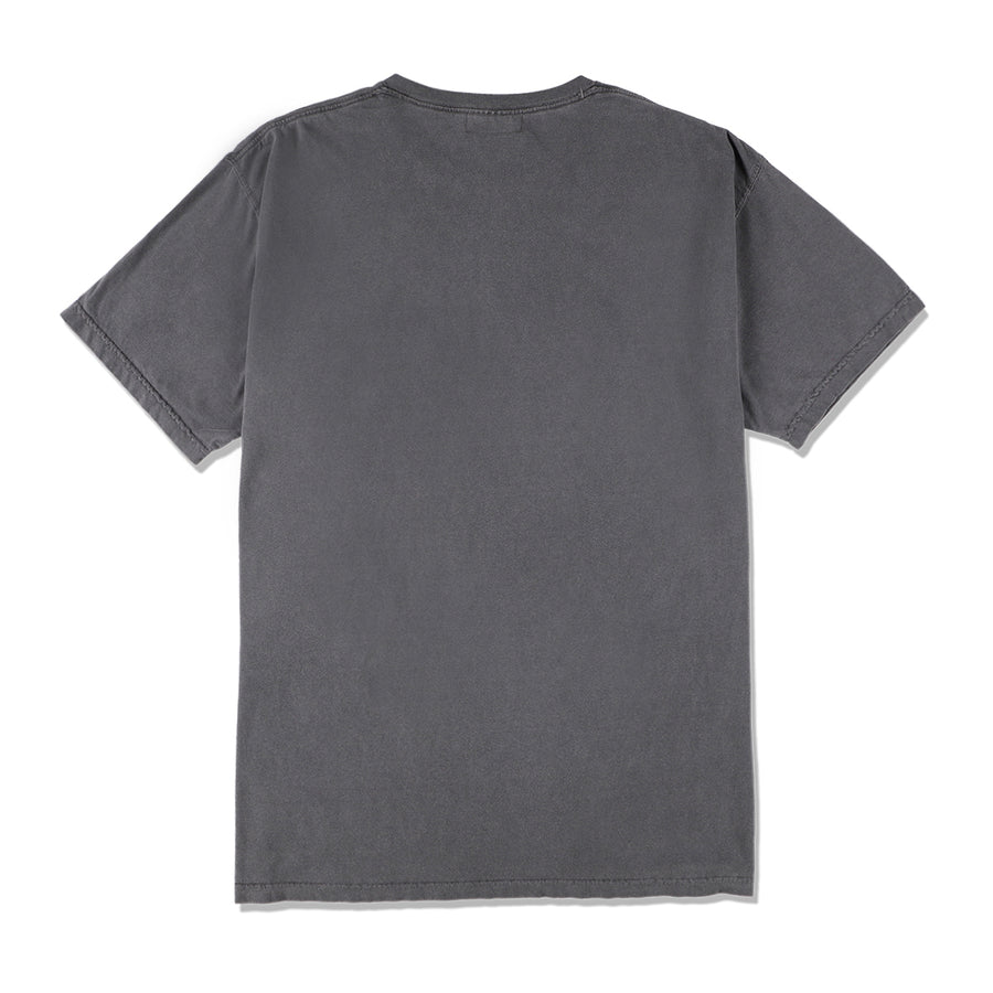 W&S G-DYE (CIRCLE) T-SHIRT / CHARCOAL (CS-158)