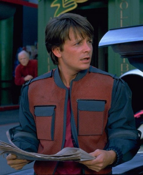 Marty McFly Back To The Future Jacket