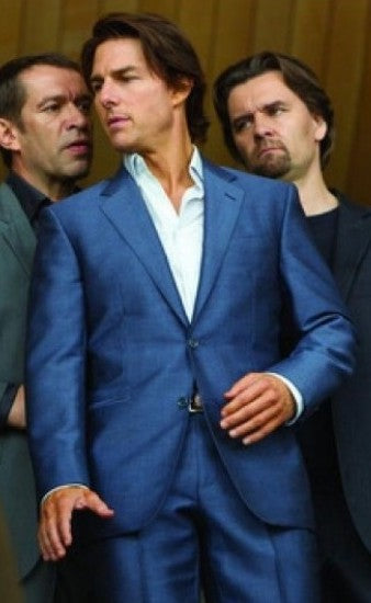 Mission Impossible Ghost Protocol Blue Suit