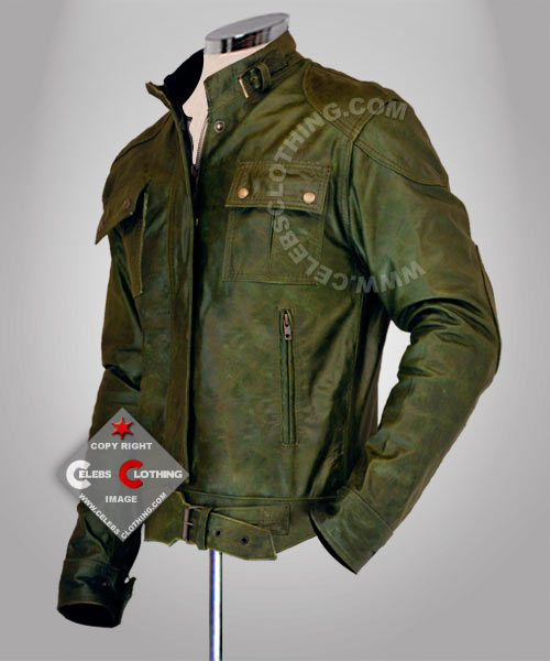 Wanted Wesley Gibson Real Leather Jacket