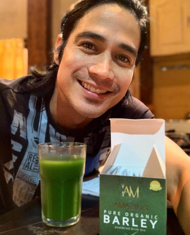 Piolo Pascual for Amazing Barley