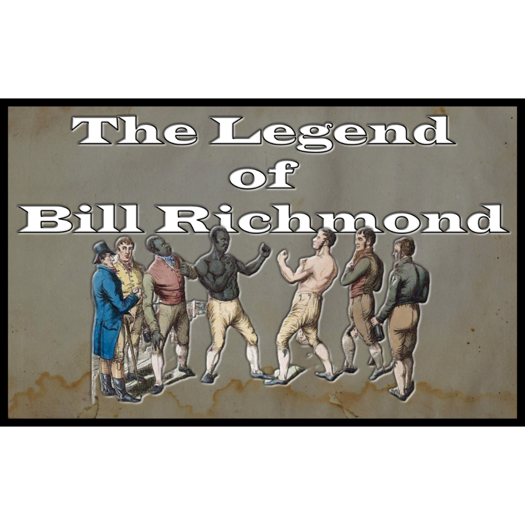 Bill Richmond facing opponent in bare knuckle boxing match
