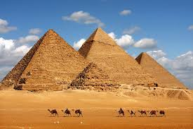 Image of the pyramids