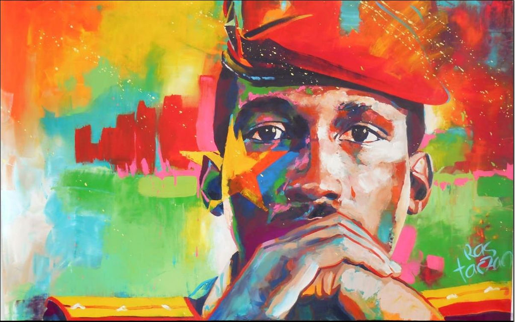 Thomas Sankara painting