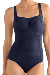 Mastectomy Swimwear 'Nevis One Piece' Navy