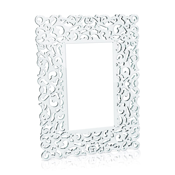Baroque Lace Frame - Clear