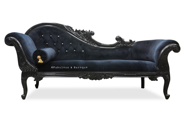Queen Anne's Revenge Chaise - Black