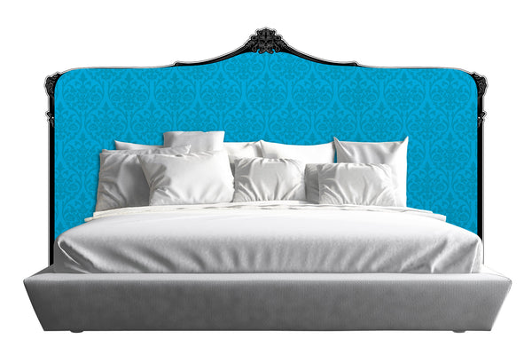 Baroque Headboard - Blue