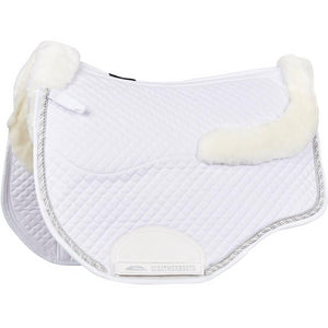 Weatherbeeta - Euro Shaped Sheepskin All Purpose Saddle Pad