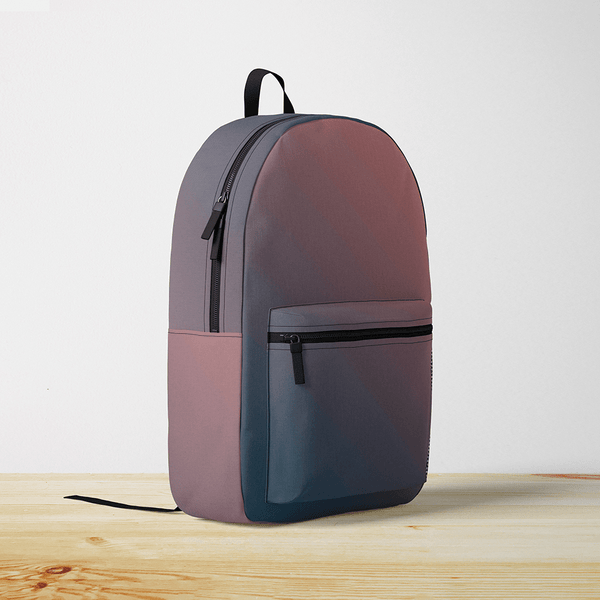 Navy & Rose Gradient Backpack
